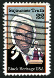 Sijourner Truth US Postage Stamp Royalty Free Stock Photo