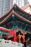 sik罪孽tai寺庙wong yuen 免版税图库摄影
