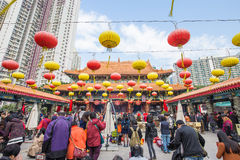 Sik Sik Yuen Wong Tai Sin Temple in Hong Kong Royalty Free Stock Photography