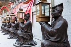 sik syndar tai-tempelwong yuen Royaltyfri Fotografi