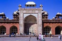 Sikandra Agra India. Sikandra, the mausoleum of Akbar the Great. Agra, India Stock Photos