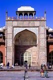 Sikandra Agra India. Sikandra, the mausoleum of Akbar the Great. Agra, India Stock Images