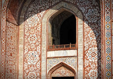 Sikandra, Agra, Uttar Pradesh. Architectural detail Royalty Free Stock Photo