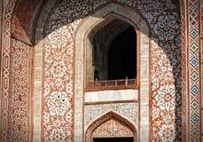 Sikandra, Agra, Uttar Pradesh na dach budynku architektury szczególne Zdjęcie Royalty Free