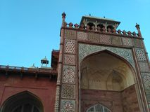 Sikandra close up view. Close view of Sikandra located in Agra Stock Image
