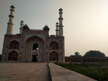 Sikandra fort, Agra uttar pradesh, ind fotografia stock