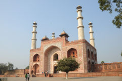 Sikandra gateway. To akbars mausoleum, agra, india Stock Photos