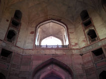 Sikandra inside view. Picture of Sikandra inside view located in Agra royalty free stock image