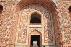 在Sikandra的Akbar的坟茔 免版税图库摄影