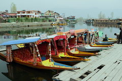 Sikara In Dallake. Stock Image