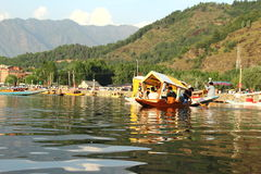 Sikara Ride In Dallake. Stock Photo
