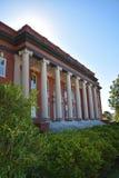 Sikes Pasillo en el campus universitario de Clemson Imágenes de archivo libres de regalías