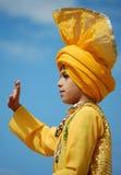 SIkh Boy Stock Photo