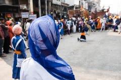 Sikh Ceremony in Delhi Royalty Free Stock Image