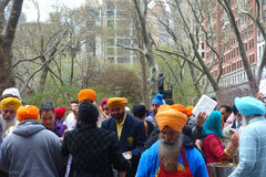 2014 Sikh Dagparade Stock Foto's