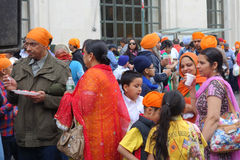 2014 Sikh Dagparade Royalty-vrije Stock Foto's