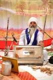 Sikh devotee Stock Image