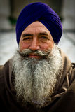 A Sikh devotee of The Golden Temple of Amritsar, Punjab, India Royalty Free Stock Photography