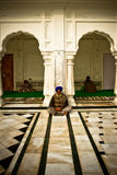 Sikh devotees of The Golden Temple of Amritsar, Punjab, India Royalty Free Stock Photo
