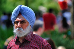 A Sikh Elder royalty free stock photography