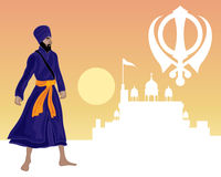 Sikh festival Royalty Free Stock Photography