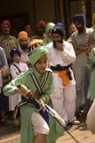 Sikh fighter, Amritsar, Punjab, India Stock Photos