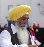 Sikh Gentleman Celebrating Vaisakhi Royalty Free Stock Photos