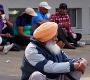 Sikh Gentleman Celebrating Vaisakhi Royalty Free Stock Images