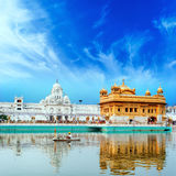 Sikh golden palace in India Royalty Free Stock Photography