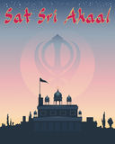 Sikh greeting Royalty Free Stock Images