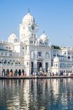 Sikh gurdwara Golden Temple (Harmandir Sahib). Amritsar, Punjab, India Royalty Free Stock Photography