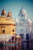 Sikh gurdwara Golden Temple (Harmandir Sahib). Amritsar, Punjab, India Stock Photo