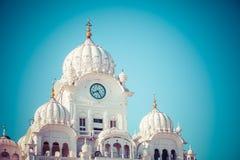 Sikh gurdwara Golden Temple (Harmandir Sahib). Amritsar, Punjab, India.  Royalty Free Stock Photos