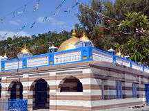 The Sikh Gurdwara in Rewalsar Royalty Free Stock Photography