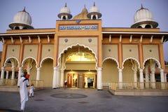 Sikh Gurdwara, San Jose, California, USA Royalty Free Stock Photo