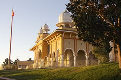 Sikh Gurdwara San Jose (side view) Royalty Free Stock Image
