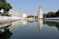 Sikh holy Golden Temple in Amritsar, Punjab, India Stock Image