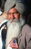 A Sikh Indian-American Stock Image
