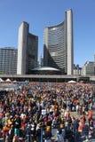 Sikh- Khalsa dag i Toronto Royaltyfria Foton
