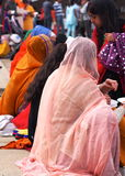 Sikh Ladies Celebrating Vaisakhi Royalty Free Stock Photo