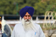 Sikh man Stock Image