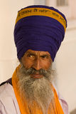 Sikh man in Amritsar, India. Royalty Free Stock Photo