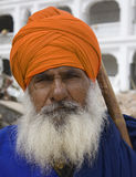 Sikh Man's Thanking Royalty Free Stock Photo