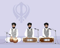 Sikh music Stock Images