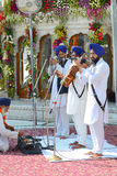 Sikh Musicians Stock Photo