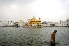 Sikh pilgrim, Amritsar, Punjab, India Stock Photo