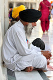 Sikh Praying Royalty Free Stock Images