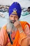 Sikh strijder Royalty-vrije Stock Afbeeldingen