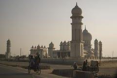 Sikh- tempel, Indien på solnedgången arkivfoton