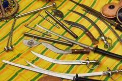 Sikh wapens Stock Foto